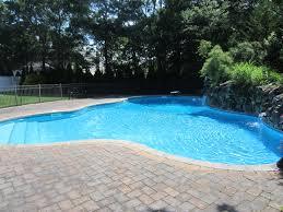 pool water. Bricks And Stone Waterfall Adds Iron To Pool Water Pool Water