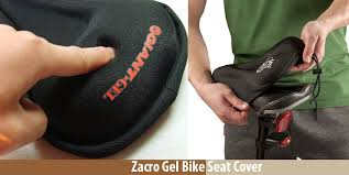 zacro gel bike seat cover review