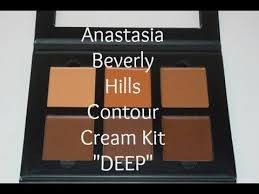 anastasia contour kit cream. anastasia beverly hills cream contour kit.. deep. kit