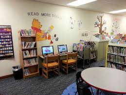 childrens library wall art