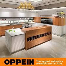 melamine door quartz stone countertop galley pvc membrane kitchen cabinet op16 118 pictures