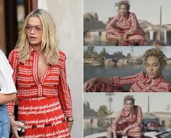 Rita Star Pattern Interesting Who Wore It Best Rita Ora Or Beyonce Pop Star Fashion FaceOff