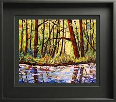 Types of picture framing Custom Framing If You Want To Frame Your Gallery Wrapped Canvas Floater Frame Is The Best Option Floater Frames Are Contemporary And Quite Stunning Jill Saur Fine Art Types Of Canvas And Framing Jill Saur Fine Art