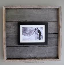 image of easy pallet wood frame my repurposed life intended for diy wood picture frame