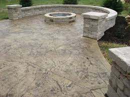 Concrete Patio Cost Photos Of Stamped Concrete Patios For Best Of