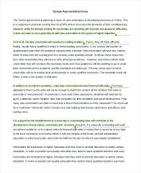 examples of argumentative essays example essays education sample  examples of argumentative essays examples argumentative essays example argumentative persuasive essay topics