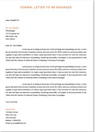 Heading Of Formal Letter Formal Letters Examples For Students Top Form Templates Free