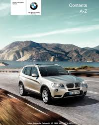 BMW X3 2011 F25 Owner's Manual