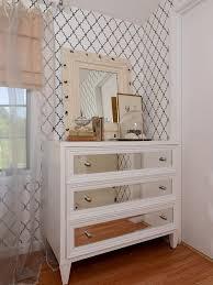 Bedroom Furniture Dresser Mirrored Dresser Contemporary Bedroom