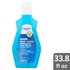 Equate Alcohol Free Zesty Mint Multi Action Antiseptic Oral