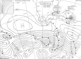 Weather Sa Synoptic Chart
