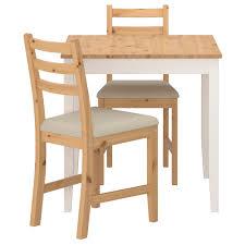 Lerhamn Tisch Und 2 Stühle Antikbeize Hell Vittaryd Beige Ikea