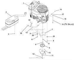gravely 991107 035000 044999 zt 44 hd kohler parts diagram engine and clutch diagram gif