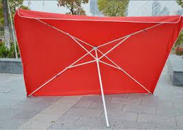 commercial square outdoor umbrella parasol 2 7 m garden parasol with logo print