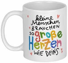 Personalisierte Tasse Mit Spruch Dankeschön Geschenk Erzieherin