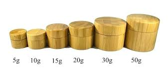 jars with wooden lids box cosmetic container bamboo jar glass lid wood nz