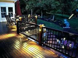 exterior deck lighting. Outdoor Deck Lighting Ideas Solar Services . Exterior E