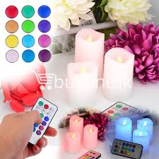 best deal wireless romantic luma color changing candles for party birthday valentine one lk ping send gifts to sri