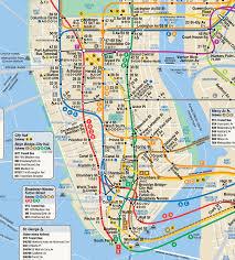 new york city subway map  new york city • mappery