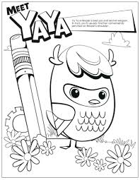 Doodle Coloring Pages Colouring Detailed Advanced Printable