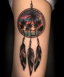 Dream Catcher Tattoos On Arm 100 Best Dreamcatcher Tattoo Designs Meanings Dive Deeper 100 32