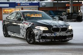 Coupe Series 2012 bmw m5 review : 2012 BMW M5 winter test spy shots - Photos