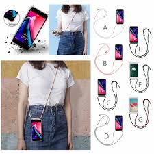 Designer Phone Lanyards Lanyard Neck Strap Retractable String Silicone Phone Bag