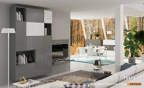 simple design for gray wall mounted tv cabinet tv17 l03