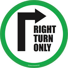 Image result for right turn
