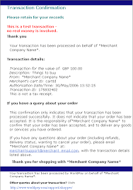 example of email shopper confirmation email example of html version