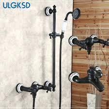 bronze shower faucet shower faucet dual switch oil rubbed bronze shower set system mixing valve mixer