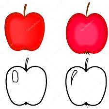 Manzanas Para Colorear