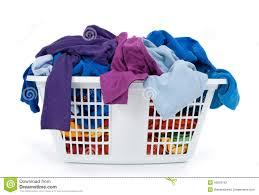 laundry basket clipart. Clothes In Laundry Basket. Blue, Indigo, Purple. Basket Clipart N