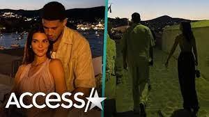 Kendall Jenner Takes Romantic Stroll w ...