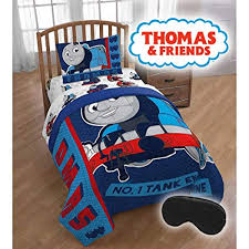 Amazon.com: Thomas The Train Bed Set Twin Size - Limited Edition ...