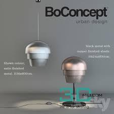 boconcept lighting. Boconcept LIGHTING - 3D Mili Download Model Free Models Lighting