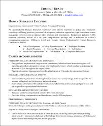 7 Sample Hr Executive Resumes Sample Templates
