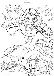 Lion King Scar Coloring Pages Colouring Totallyradclub