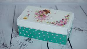 Decorated Shoe Box Ideas Decoupage tutorial shoe box DIY By Catherine YouTube 25