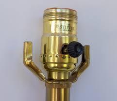 vintage stiffel brass lamp pair hollywood regency