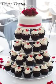 Black Red And White Wedding Cake Conception Red Black And White