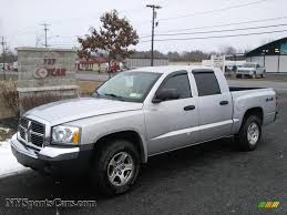 2005 Dodge Dakota SLT Quad Cab 4x4 in Bright Silver Metallic ...