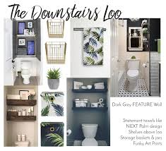 downstairs loo ideas on downstairs toilet wall art with the home diaries downstairs toilet ideas bang on style