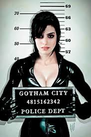 e hathaway as catwoman selina kyle costume makeup tutorial