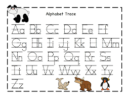 Letter Tracing Templates Letters Sheets Under Fontanacountryinn Com