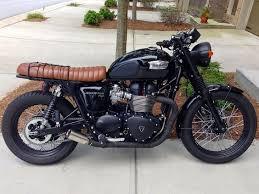 triumph brat style motorcycles