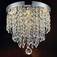 modern chandelier crystal ball fixture pendant ceiling lamp