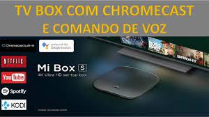 Xiaomi : Mi Box S - TV Box com Chromecast e Comando de Voz via Google  Assistente - YouTube