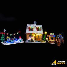 Lego Winter Village Lights Lego Winter Village Bakery 10216 Light Kit