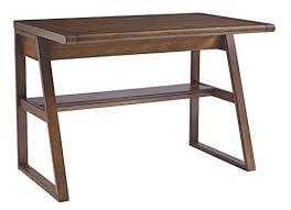 vintage office desk. Ashley Furniture Signature Design \u2013 Vintage Casual Home Office Desk Dual Electrical Outlets \u0026 Charging Stations Medium Brown